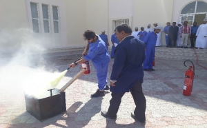 Orientation program on Fire Extinguishers Demonstration and Fire Safety