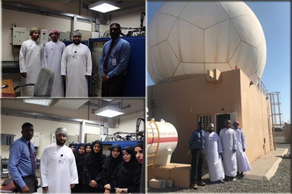 Visit to Widam Al sahil secondary Radar Site