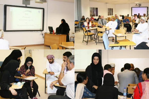 Awareness Session on Documentation Policy in the ELC