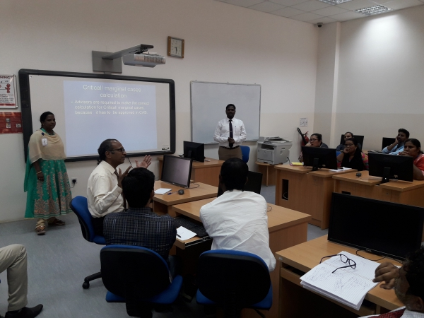 "Training programme on ""Updates on advising"""